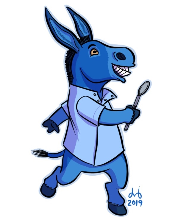 Denim Donkey Dentist