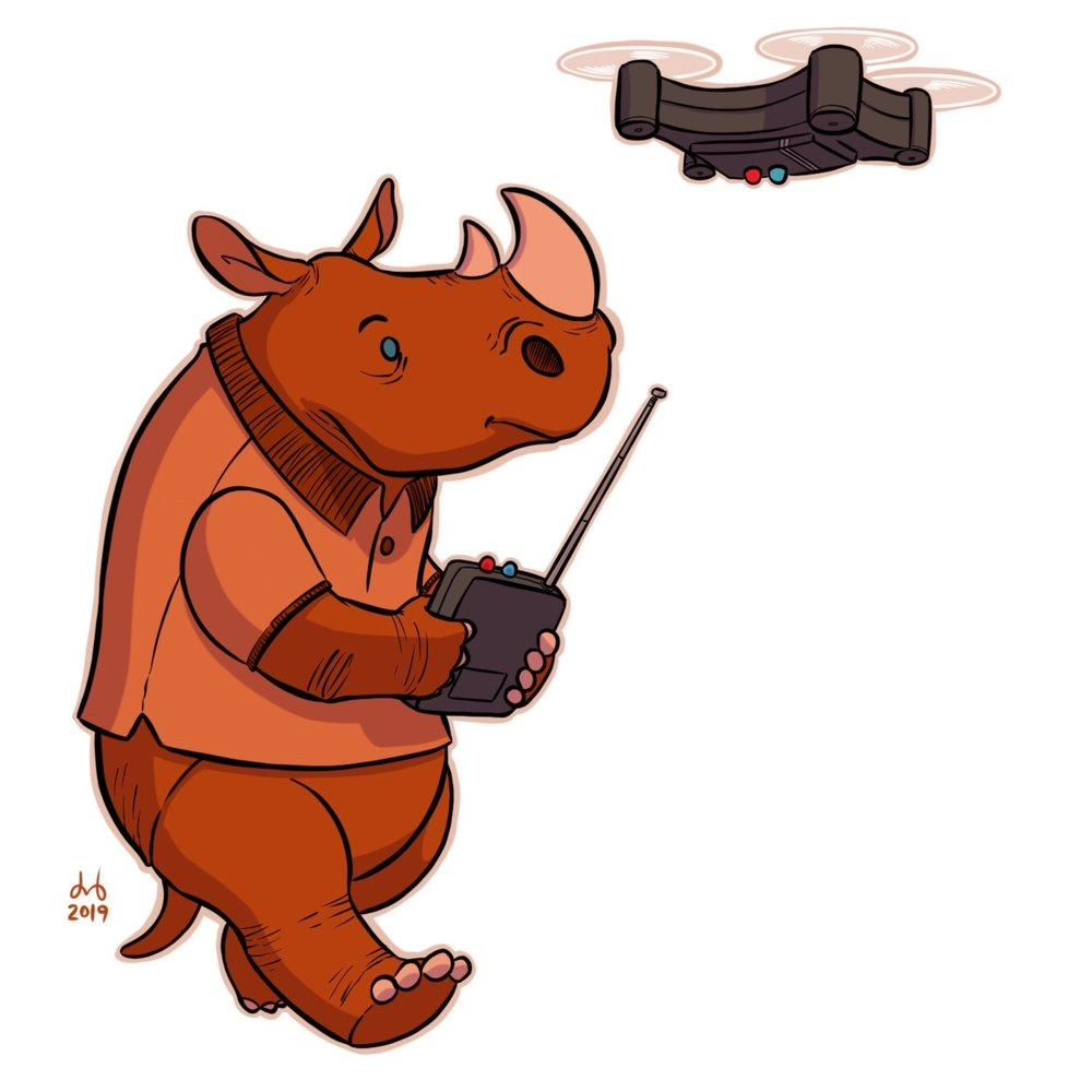 Rust Rhinoceros Robotics Engineer
