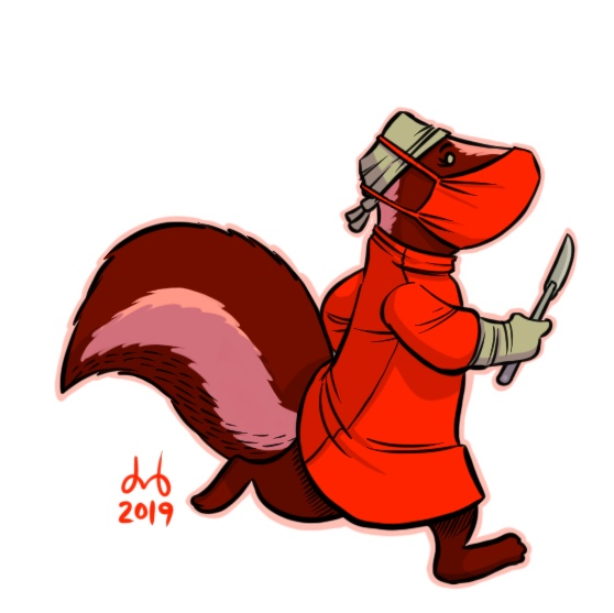 Scarlet Skunk Surgeon