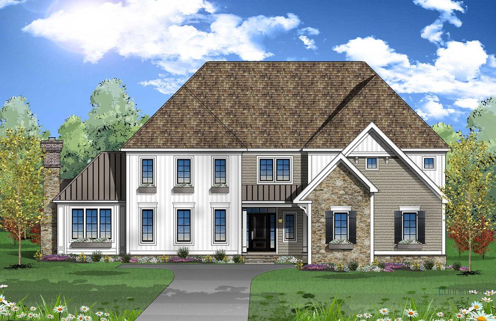 New Custom Home | Chestnut Hill, PA