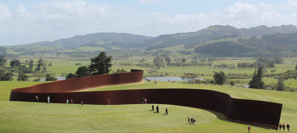 Te Tuhirangi Contour  by Richard Serra. Gibbs Farm, Kaipara Harbour, New Zealand. https://compinteractive.files.wordpress.com/2014/11/img_0304.jpg