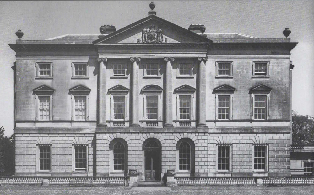 Front elevation, Castle Ward, Strangford Lough, 1767.