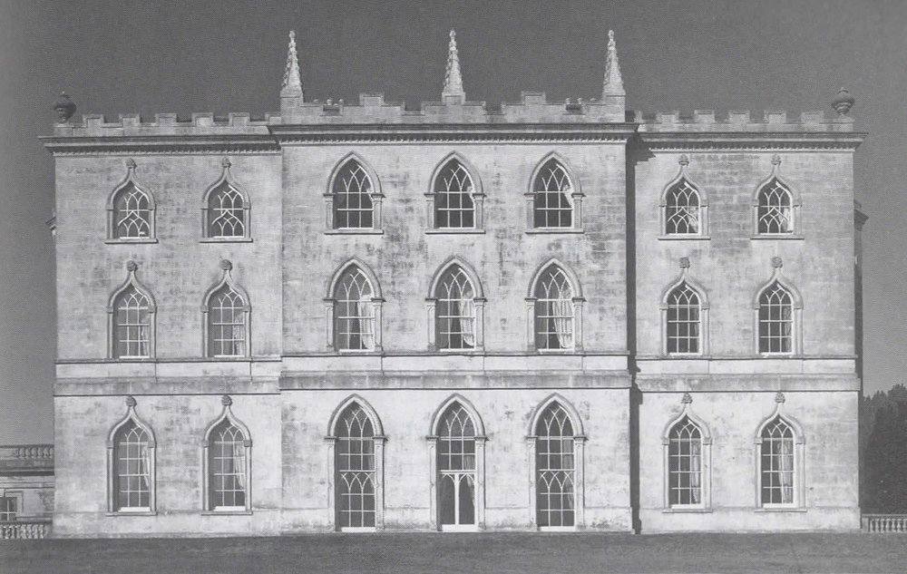 Rear elevation, Castle Ward, Strangford Lough, 1767.