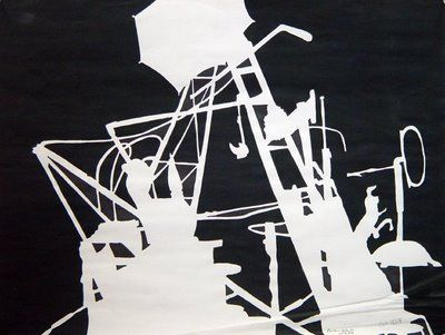 Negative Space Drawings Ccc Architecture
