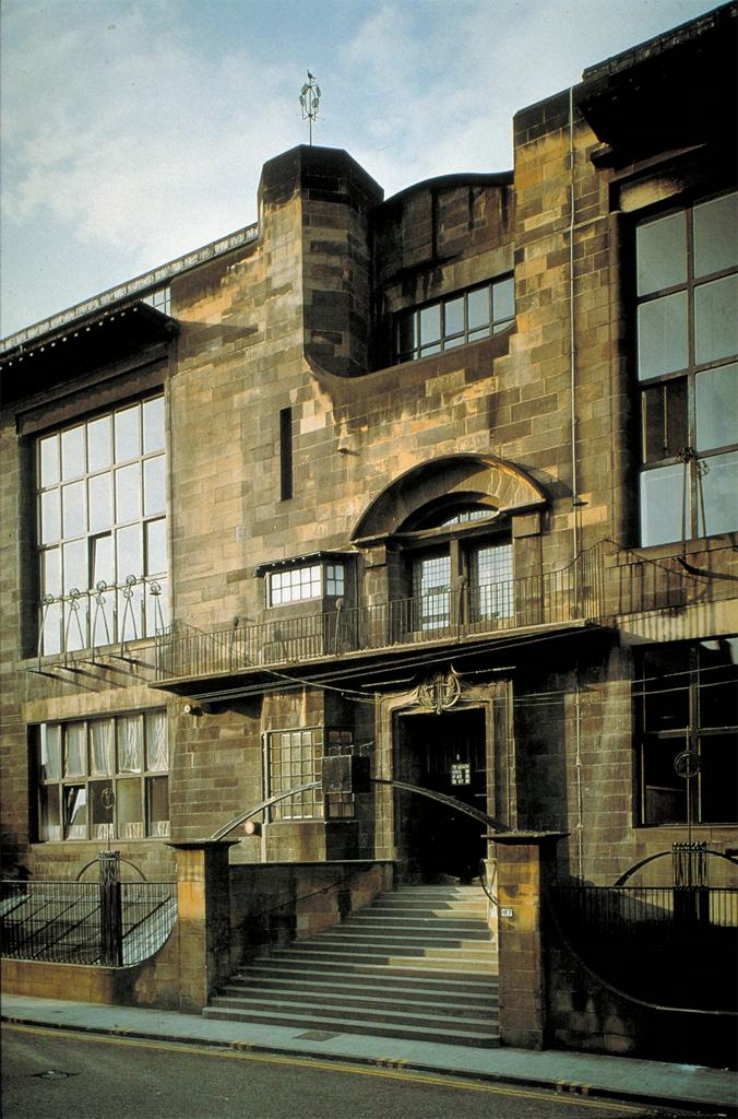 Mackintosh, Charles Rennie.  Glasgow: Glasgow School of Art, exterior,  1897-1909. Digital Library Federation Academic Image Cooperative.  Artstor. Web. 05-08-2017.