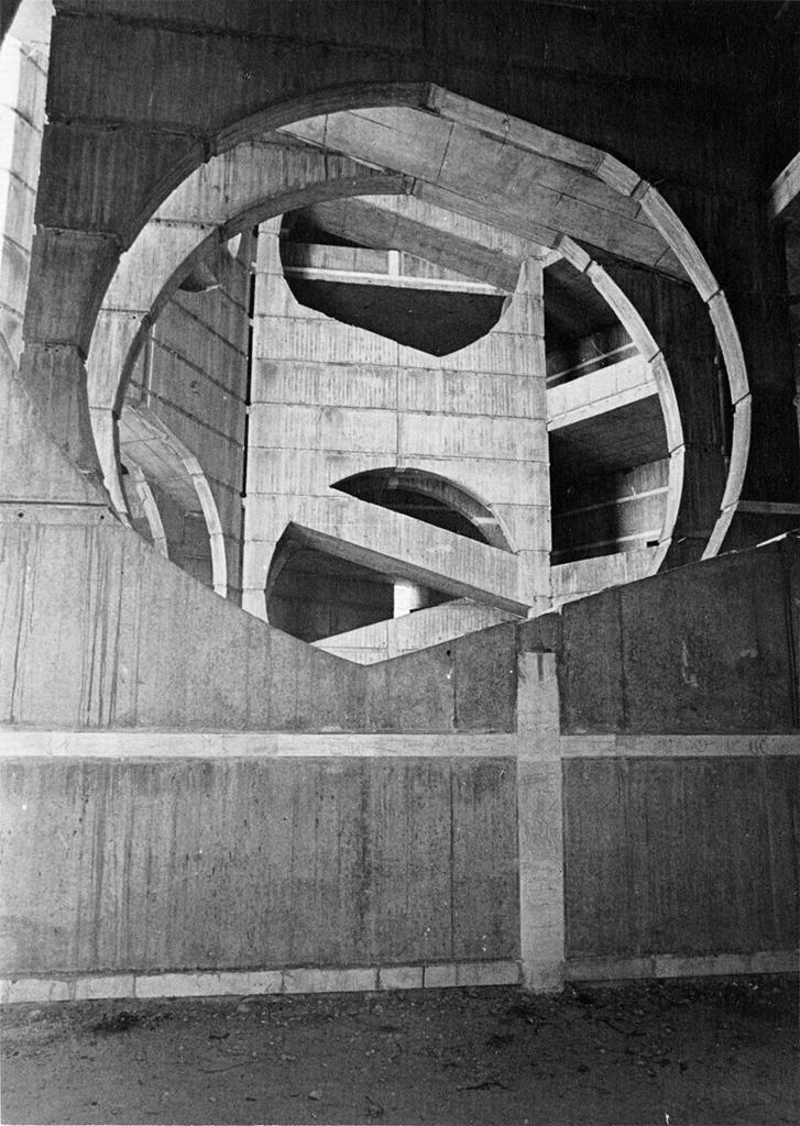 Kahn, Louis.  National Assembly Building of Bangladesh . Dhaka (Bangladesh). 1962-82. Avery/GSAPP Architectural Plans and Sections, ARTStore. Web. 05-30-2017.