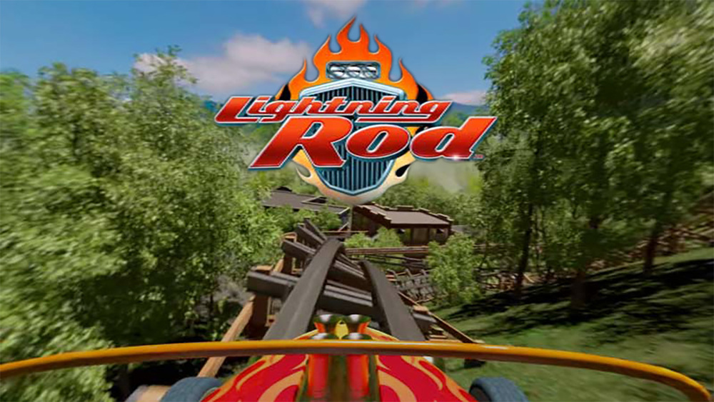 Dollywood Lightning Rod VR