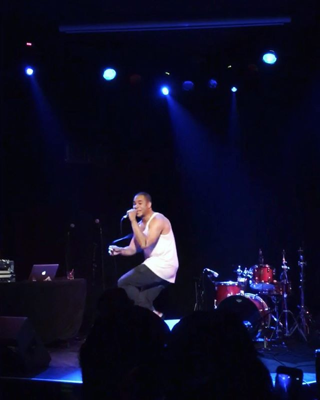 #latergram Major thanks to all those who came out to support on Saturday night at @dromnyc! Truly an incredible experience sharing some of the new music with y'all! #THINAIR #OnwardAndUpward 🙏🏽🙏🏽🙏🏽 PHOTO CRED: @amelasuj