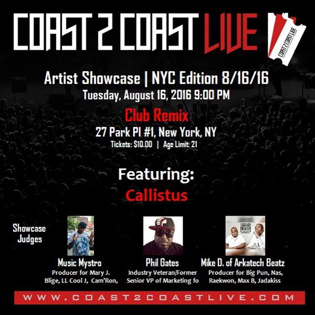 On my way downtown to Club Remix in FiDi for the @coast2coastmixtapes NYC showcase. Doors open at 9:30p. Let's get it! #THINAIR #Visa 🏄🏽😎🏄🏽