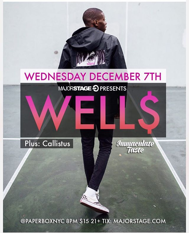 Excited to be added to this show and performing alongside @wellwellwells_ tomorrow night! If you're in BK and free, come thru to @paperboxnyc on 17 Meadow Street in East Williamsburg. Crowd and energy will be lit. Many thanks to @majorstage for the opportunity. Hit me for tickets/if you wanna be added to my list. Doors open at 8. Pull up before 10. #letsgetit 🙏🏽🏄🏽🙏🏽