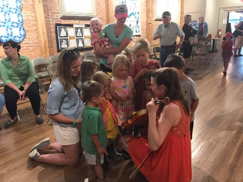 Children's Outreach Concert, Lake City, Colorado 2017