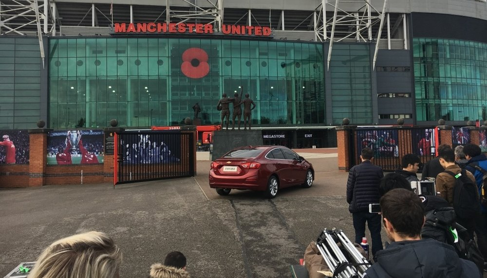 Film Manchester United Commercial Production Service Fixer Chevrolet 1