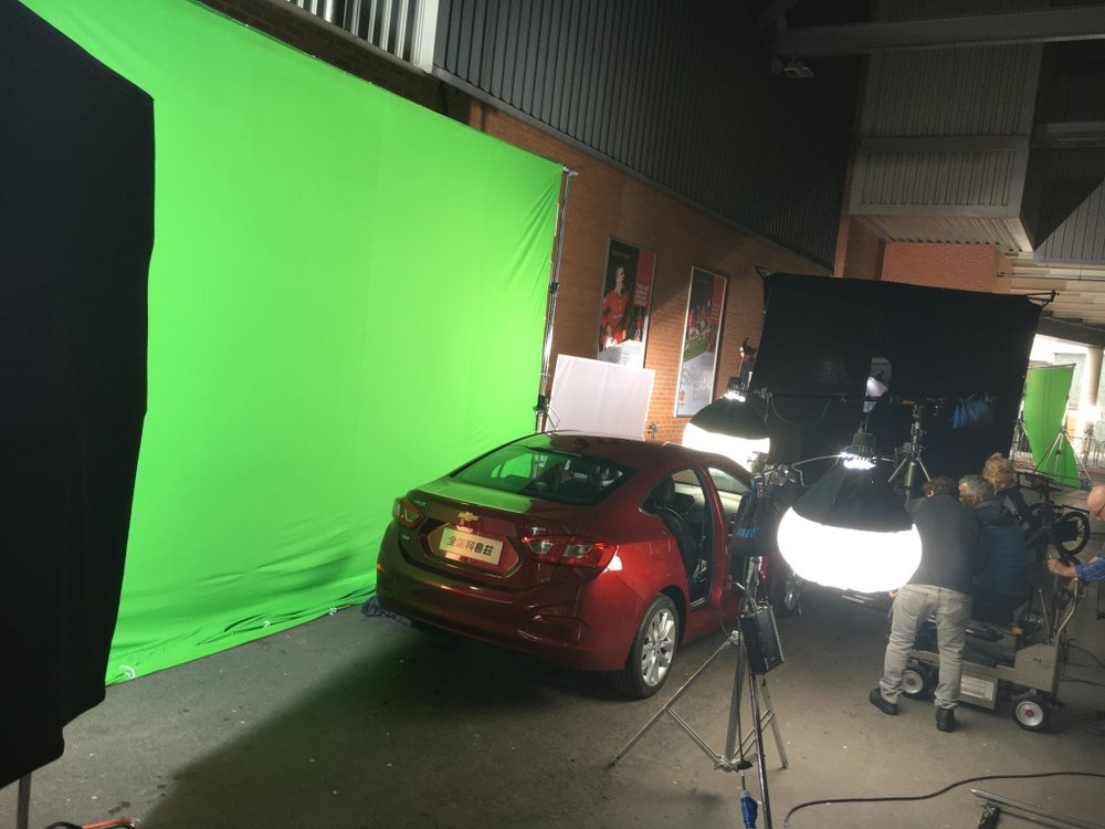 Film Manchester United Commercial Production Service Fixer Chevrolet 20