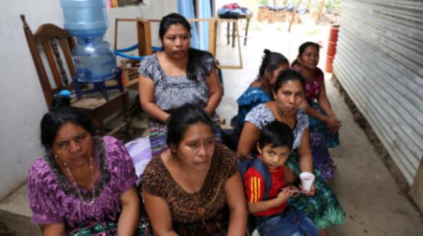 Women at the Flor Juanera cooperative in San Juan, Guatemala.