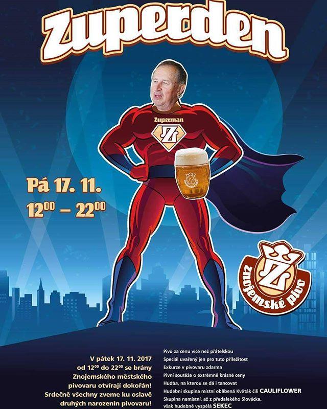 Už zítra na vás čeká v areálu Znojemského městského pivovaru Hradní 87/2, 669 02 Znojmo Z U P E R D E N, protože Znojemské pivo slaví narozeniny. A my u toho budeme taky! Těšíme se na milá setkaní! A buee ne jen pivo ale i něco na zahřátí! Hezký den všem přátelé! #tomorrow #events #znojmo #znojmozije #illegalbar #cateringznojmo #barservice