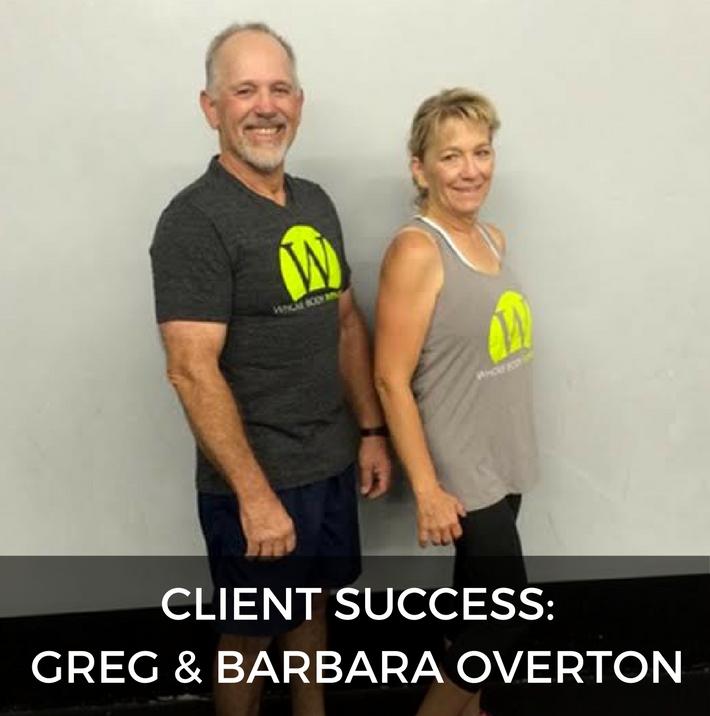 Greg and Barbara Overton