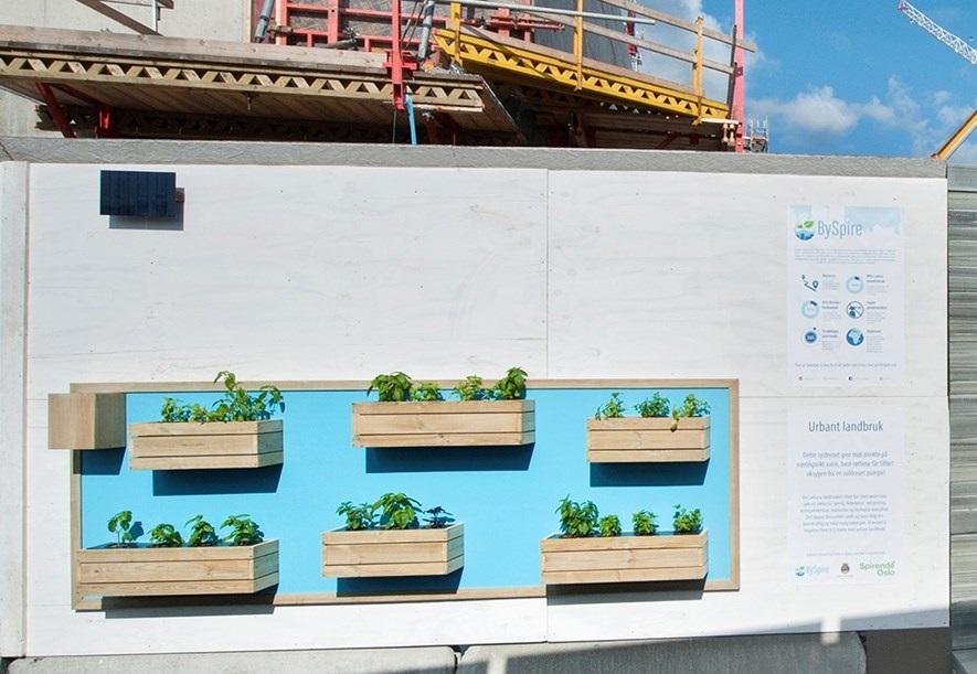 Utendørs-system i samarbeid med Oslo Kommune og Spirende Oslo