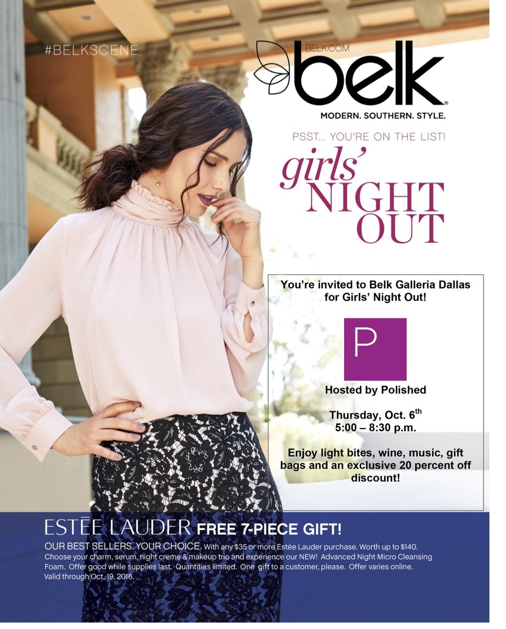 Previous Polished Speaker Catherine Lowe at a Belk Event
