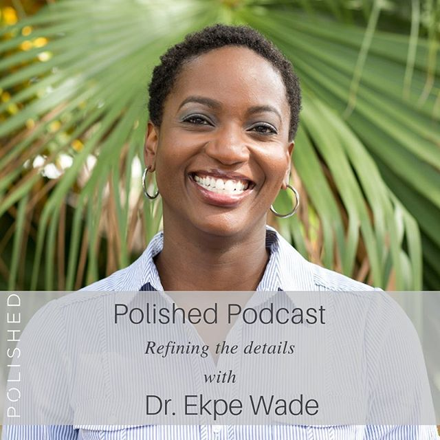 Happy Tuesday, friends! We've got a great episode this week featuring the incredible Ekpe Wade! 💗 Ekpe holds an M.D., MABC and LPC. She currently works as a Telemedicine Physician, specializing in Family Medicine with Doctor on Demand. For as long as Dr. Wade can remember, she has had the desire to work in medicine, but her career path took a dramatic turn when she felt led to go BACK to school and pursue a degree in counseling from DTS. You're going to love her story and her thoughts on self-care and community. Happy listening, friends!🙌🏼 . . .  #podcasttuesday #happylistening #bossbabe #shedoesitall