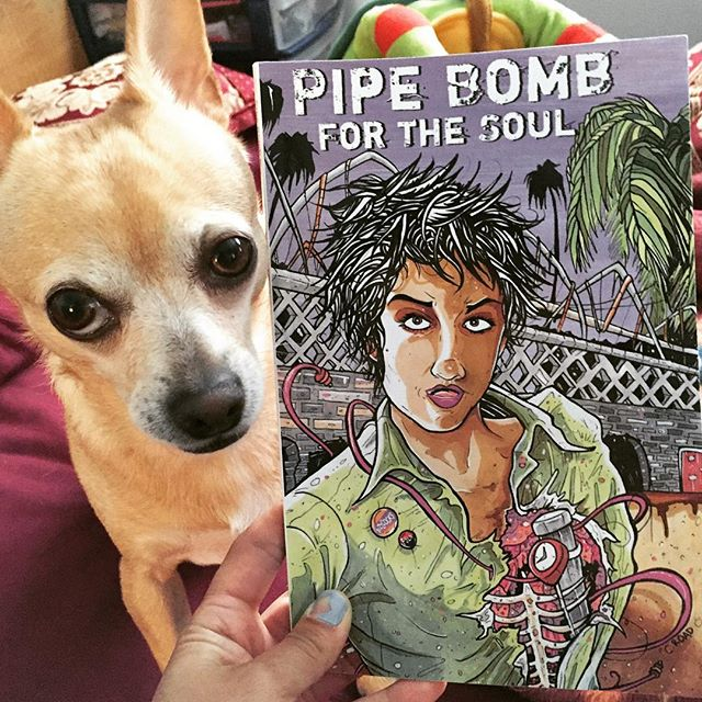 #yesmaamzine highly recommends the latest @alice_bag book, #pipebombforthesoul based on her 1986 #diary when traveling to #Nicaragua #alicebag