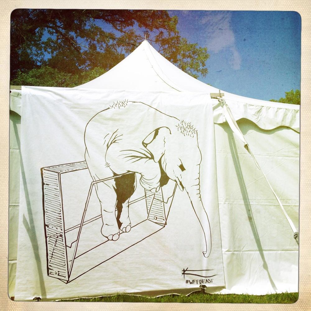 Baby Elephant & Cassette Case