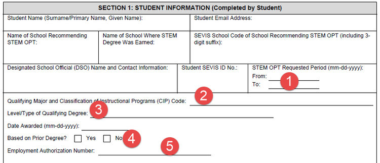 Opt Stem Extension Approval With Detailed I Instructions