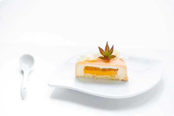 Pumpkin Mousse Cake, Entremet