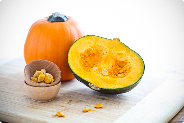 Sugar and Kabocha Pumpkins