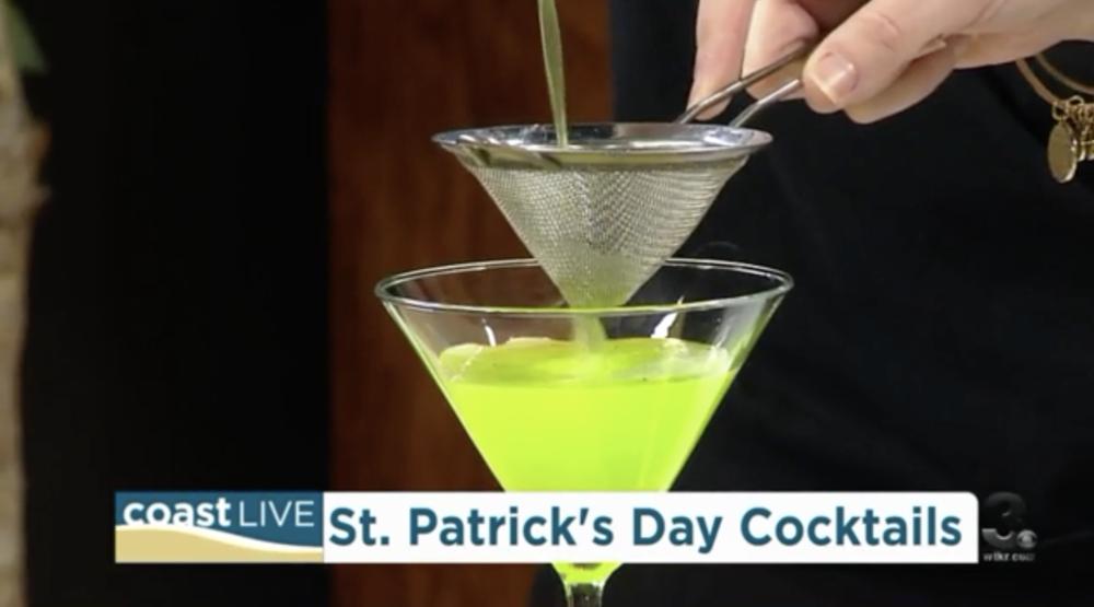 Shamrock Cocktails for St. Patrick's Day! -