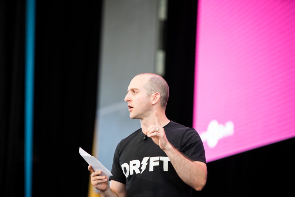 Drift's VP of Marketing Dave Gerhardt