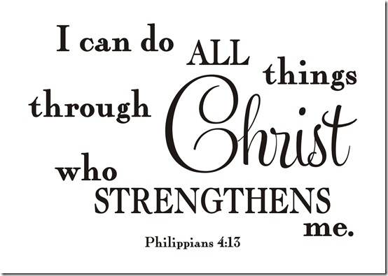 B-044 Christ who strengthens