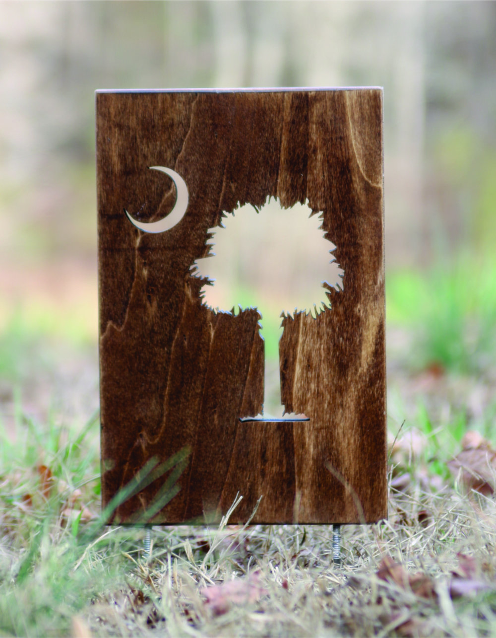Tee Marker Cutout w/ spikes - $41 (per set of 2)