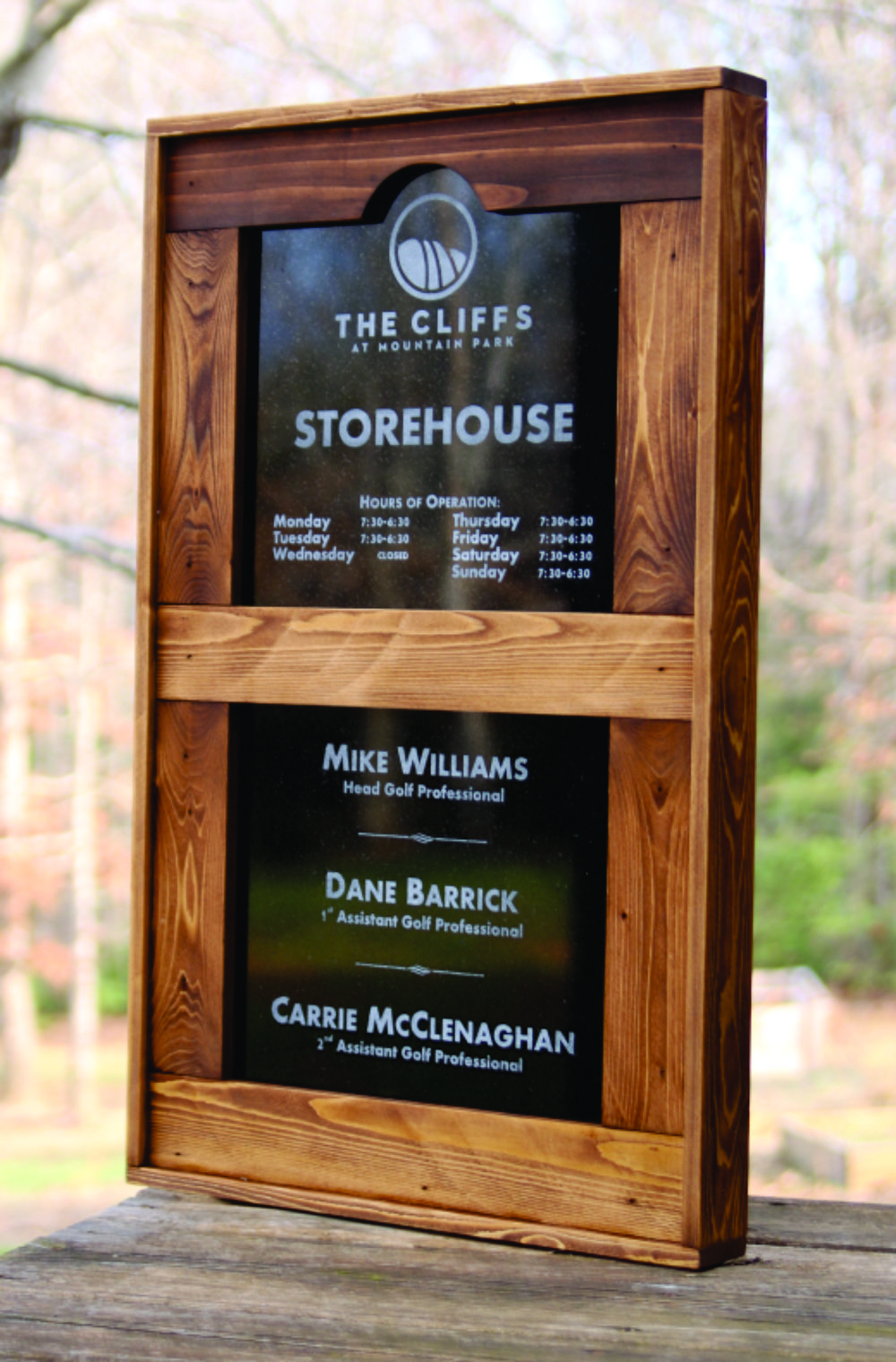 Staff Directory and/or Gift Shop Hours and Information - $195