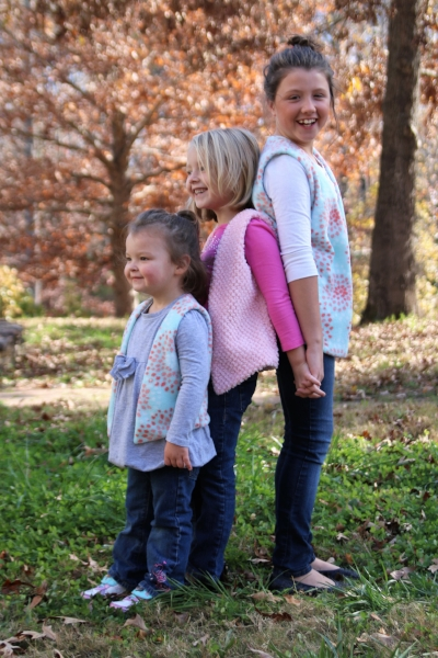 Love Notions Acorn Vests