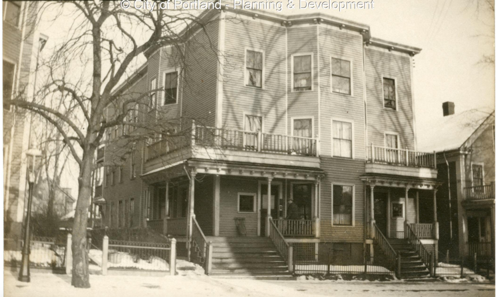 57-59 St. Lawrence St. in 1924.