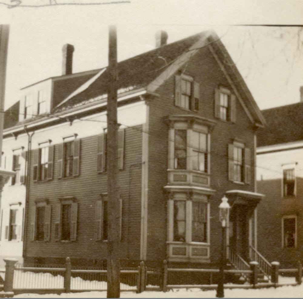 86 Beckett St. in 1924