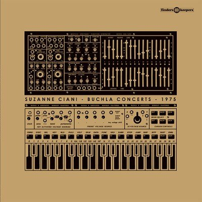 One of the LPs available at K|M|A: a 2016 reissue of Suzanne Ciani's  Buchla Concerts 1975