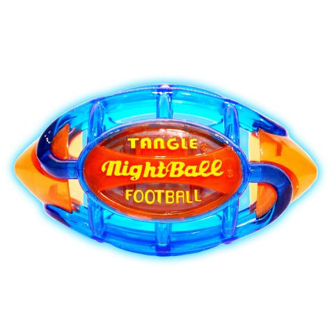 Tangle NightBall Football Large (Blue/Orange)