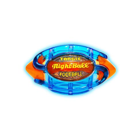 Tangle NightBall Football Small (Blue/Orange)