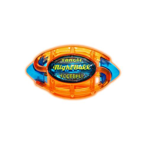 Tangle NightBall Football Small (Orange/Blue
