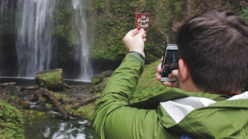 Tripp Films, West Coast Road Tripp, Multnomah Falls