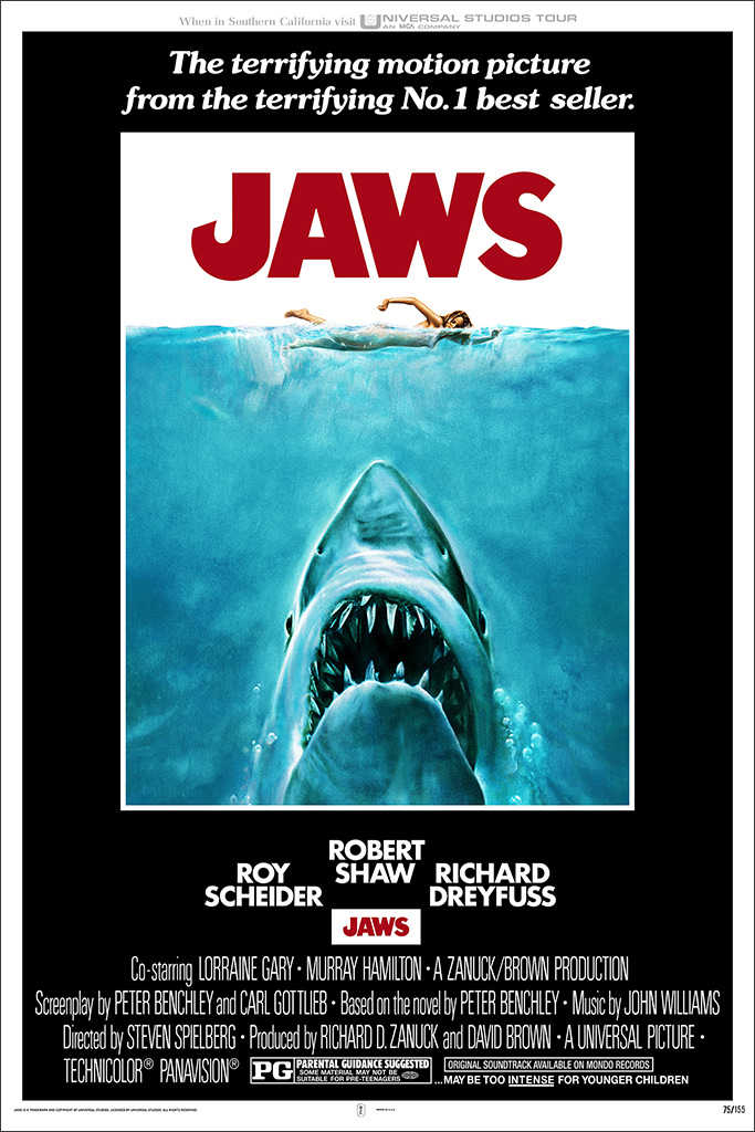 Jaws_Roger Kastel_Movie Picks_Steven Spielberg