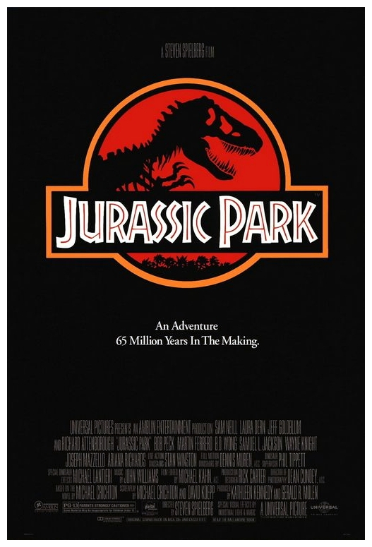 Jurassic Park_Movie Poster_Steven Spielberg_Watch Movies