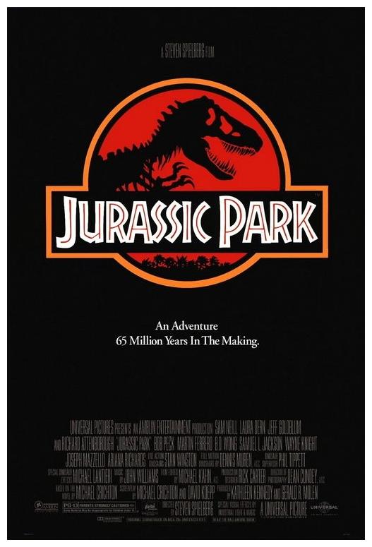 Jurassic Park_Movie Poster_Steven Spielberg_Watch Movies