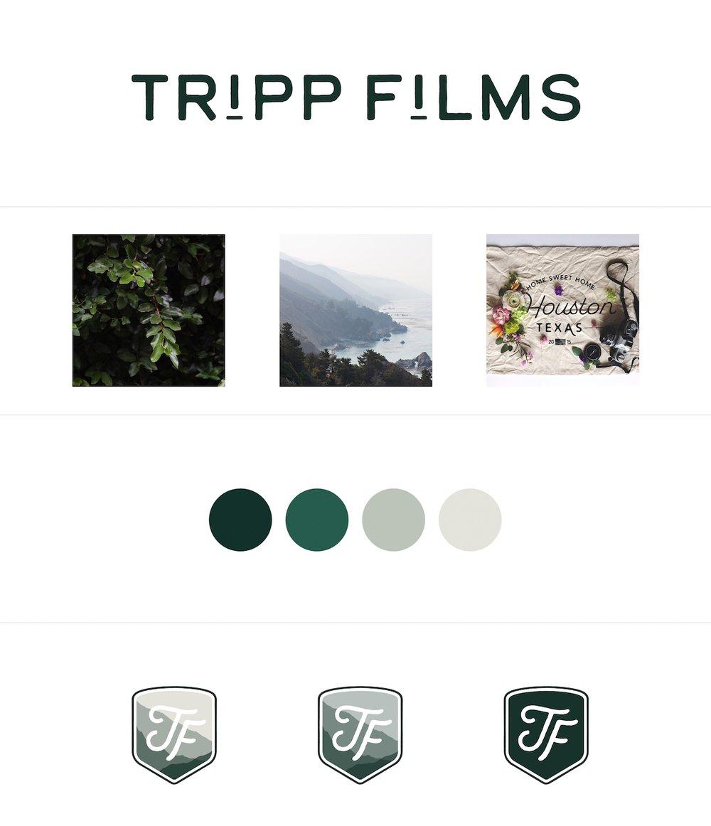 Tripp Films_Rebrand_Design