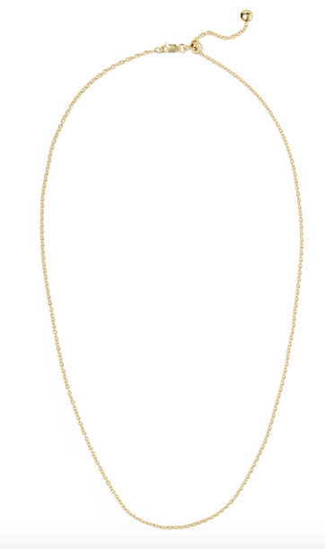 $110 - (gold plated chain) Monica Vinader @ Net-A-Porter