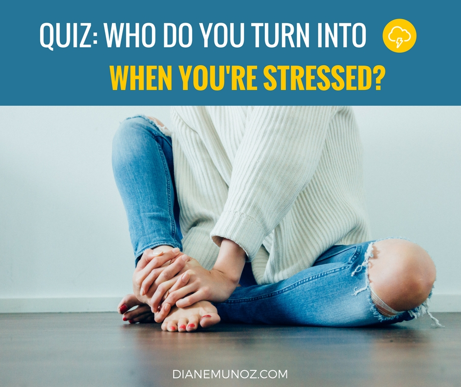 Feeling overwhelmed? Take this fun quiz!Learn which TV or movie character you're most like when you're under pressure. PLUS, get personalized tips to deal with it! -