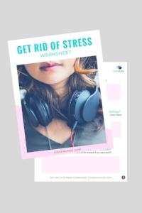 Get rid of stress worksheet | dianemunoz.com