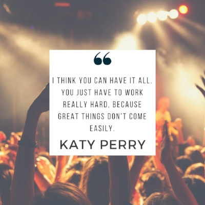 Katy Perry quote | 5 Successful Failures to Inspire You | dianemunoz.com