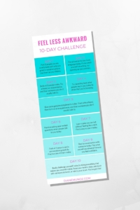 Conversation tips to help you feel less awkward | dianemunoz.com